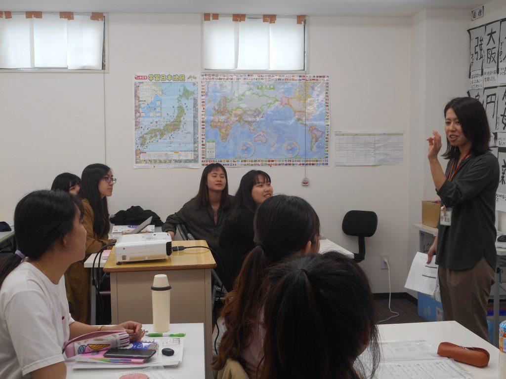 日本語授業の風景