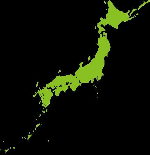 日本列島の画像